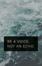 Be A Voice by mlk465