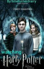 hogwarts watches harry potter and the deathly hallows part 1 by timeturnerdrarry