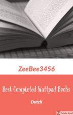Best Completed Books on Wattpad by Zeebee3456