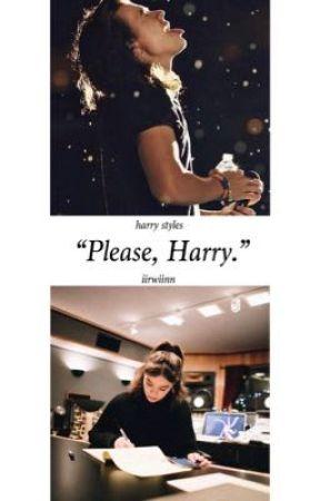 """""""Please, Harry."""" - Harry Styles by iirwiinn"""