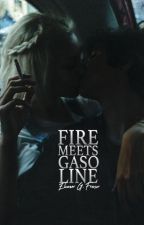 FIRE MEETS GASOLINE by juniperis