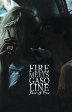 FIRE MEETS GASOLINE by juniperis