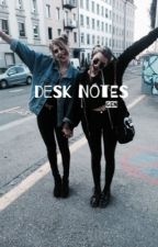 desk notes → luke hemmings au by captivitea