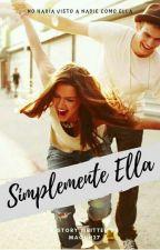 Simplemente Ella (8°SAI) by Maquii27
