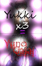 Yukki! x3 = Yuno Gasai by Am_Pple