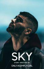 Sky ⚡ |Z.M| by OnlyASimplyGirl