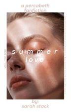 summer love  percabeth  by smilingxsarah