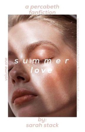 summer love |percabeth| by smilingxsarah