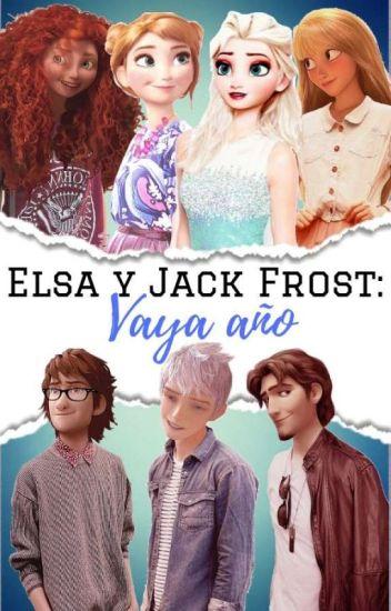 Elsa y Jack frost : Vaya año. [ Terminada]