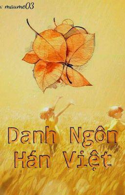 Danh Ngôn Hán Việt