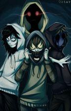 creepypasta  x Neko badass reader by Tiki76