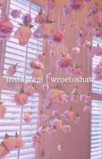Instagram || Wroetoshaw by __elss