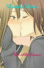 (girlxgirl) Lovely love by AllyTerrso