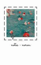 notes | noren by h-zitao