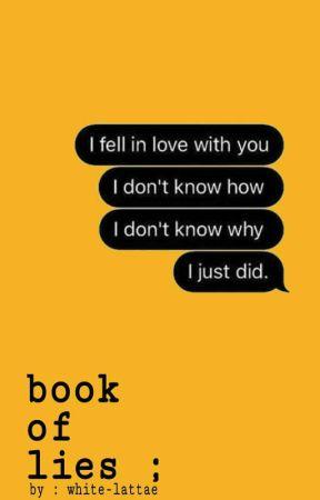 book of lies ; by white-lattae