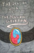 The Dragon girl & The Dragon skeleton by Suicune400