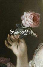 blue coffee _ vkook by btstrashforlifeu435