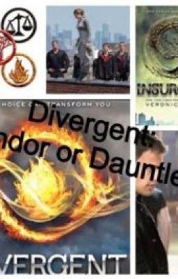 Divergent: Candor or Dauntless