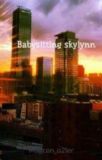 Babysitting skylynn by Magcon_o2ler