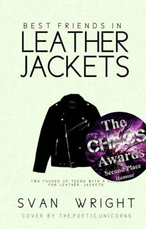 Best Friends In Leather Jackets by Svan_Wright