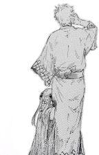 Kanna: abuelito Gin-chan by FranyHQ