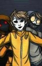 Masky's Sister (HoodiexOCxToby) by BrokenToy666