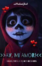 >>Ay, Mi Amor!<< (Miguel Rivera x Reader oneshots) by xxMadamGhost