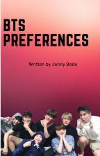 BTS preferences by JennyBode