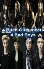 4 Bitch Girls meets 4 Bad Boys by MsEYNgel