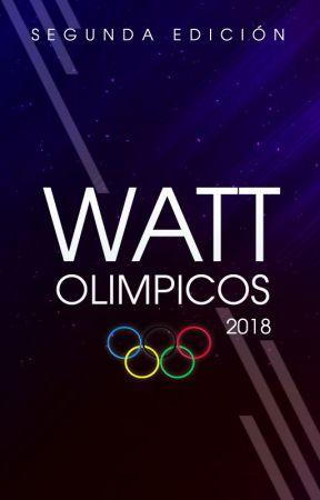 Premios Wattolímpicos 2018 [Cerrado] by WattFanLegion