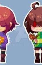 female frisk and chara x reader by Plummerj