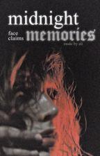 MIDNIGHT MEMORIES °  face claims by patrxcIus
