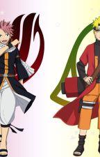 {fairy tail} {Naruto} Xuyên Qua KONOHA by user40684097