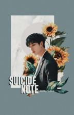 [suicide note] • BangChan ✔ by peachyele_