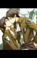 Attack on titan Eren X Levi- yaoi by MH_eclipse5