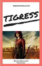 [1] Tigress || Wanda Maximoff || by Vanilla_Pudding