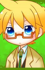 Len Kagamine x reader by hirooozora