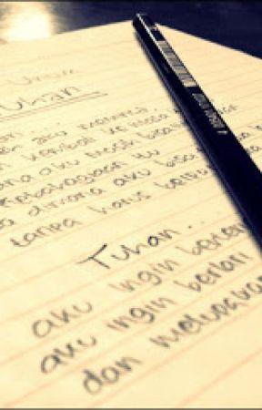 Surat Kecil Untuk Kekasih Wattpad