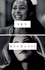 sky mechanic || raven reyes by tess0o