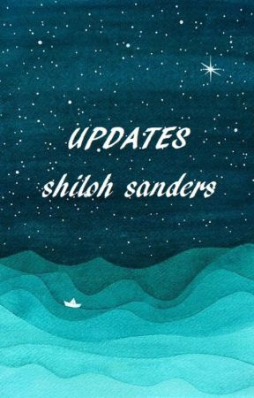 Updates/Schedules/Projects to Be Published/Etc. by Shi1ohSanders