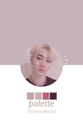 『 Palette | b.c + y.ji 』 by honeydewho