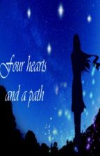 Four hearts and a path by EmilyLizarraga1