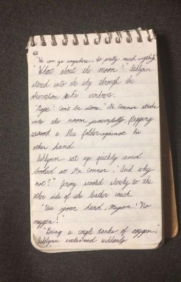 A Writers Notebook Thunderstorm1324 Wattpad