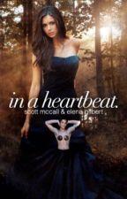 in a heartbeat. | scott mccall & elena gilbert by everythingstrangee