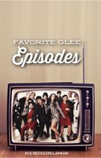 favorite episodes [glee] by sherlocksglee