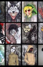 CreepyPasta Art! by MonsterTom_Stories