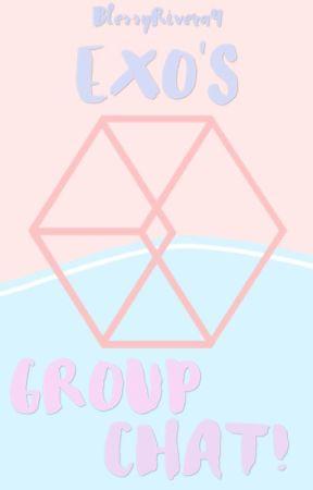 EXO's Groupchat! by BlessyRivera9