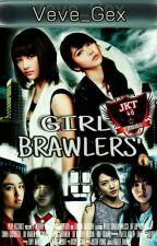 GIRL BRAWLERS' by Veve_Gex
