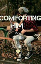 COMFORTING HIM  by duckysanta