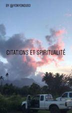 Citations et spiritualité  by yonyondu93